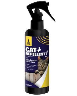 Cara agar kucing tidak buang kotoran sembarangan dengan Cat Repellent